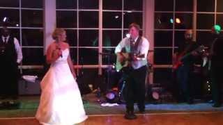 David & Sara wedding duet 6-15-13