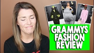 GRAMMYS FASHION REVIEW 2020 // Grace Helbig