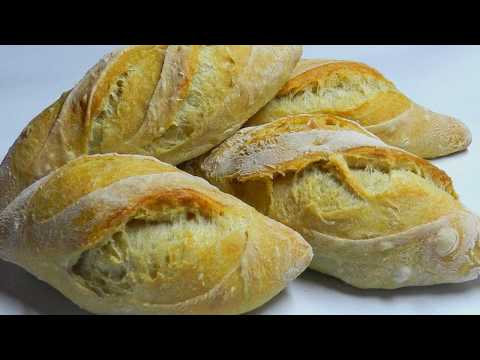 MINI BAGUETTE! No-Knead Overnight Dough Recipe