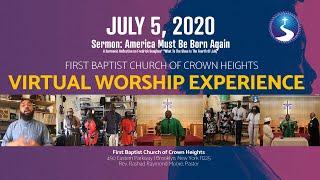 July 5th, 2020: Communion Sunday Virtual Worship Service