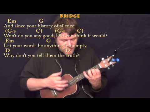 Ukulele ukulele chords for love yourself : Brave (SARA BAREILLES) Ukulele Cover Lesson in G with Chords ...