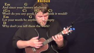 Brave (SARA BAREILLES) Ukulele Cover Lesson in G with Chords/Lyrics