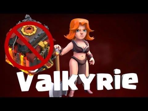 Crazy Valks 3 star every time!  Th9 vs Th10