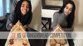 GIRLFRIEND VS GIRLFRIEND GINGERBREAD HOUSE COMPETITION!!!