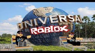 UNIVERSAL STUDIOS ORLANDO Day 2 - Roblox
