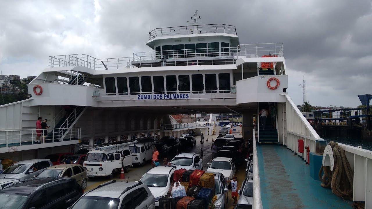 Resultado de imagem para ferry boat zumbi dos palmares