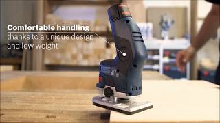Bosch GKF12V-8 Router from Power Tools UK