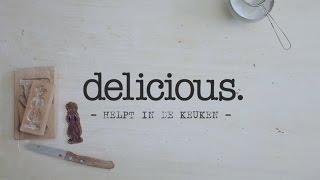 Delicious.helpt: Speculaas Bakken