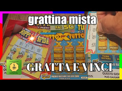 Gratta e Vinci: 𝟭𝟬𝗫 + 𝟱 𝗠𝗢𝗟𝗧𝗜𝗣𝗟𝗜𝗖𝗔𝗧𝗢𝗥𝗜 + 𝗔𝗟𝗧𝗥𝗘 𝗩𝗜𝗡𝗖𝗜𝗧𝗘 😱😱😱🤑🤑🤑🤩🤩🤩 from YouTube · Duration:  48 minutes 40 seconds