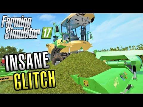 Farming Simulator 2017 | INSANE GLITCH | Sandy Bay | Episode 15