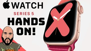 Apple Watch Series 5 Hands-On Impressions: Top 5 Features (Titanium!)