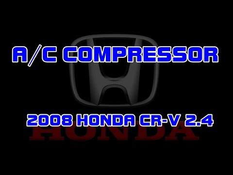 ⭐ 2008 Honda CR-V - 2.4 - How To Replace The A/C (Air Conditioning)  Crv Ac Compressor Wiring Diagram on ac compressor exploded view, ac compressor piston, ac compressor clutch, truck in air conditioning wiring diagram, ac compressor air conditioning, slave cylinder wiring diagram, ac compressor circuit, ac compressor specifications, fan clutch wiring diagram, basic air conditioning wiring diagram, ac compressor coil, hvac compressor diagram, door wiring diagram, ac compressor fuse, oil pump wiring diagram, ac compressor controls, condensing unit wiring diagram, ac compressor disassembly, ac compressor lubrication,