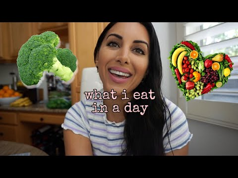 VEGAN WHAT I EAT IN A DAY | EASY & HEALTHY HIGH PROTEIN PLANT BASED MEALS 🌱