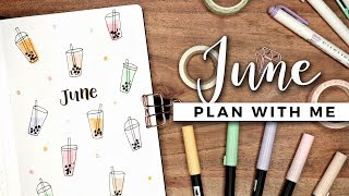 PLAN WITH ME | June 2019 Bullet Journal Setup
