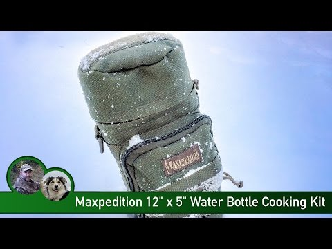 "Maxpedition 12"" x 5"" Water Bottle Cooking Kit"