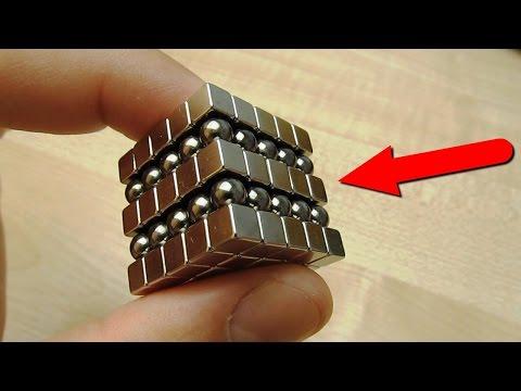 Что будет если смешать неокуб из шариков и кубиков?