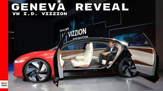 Vw I.D. Vizzion In Geneva Reveal