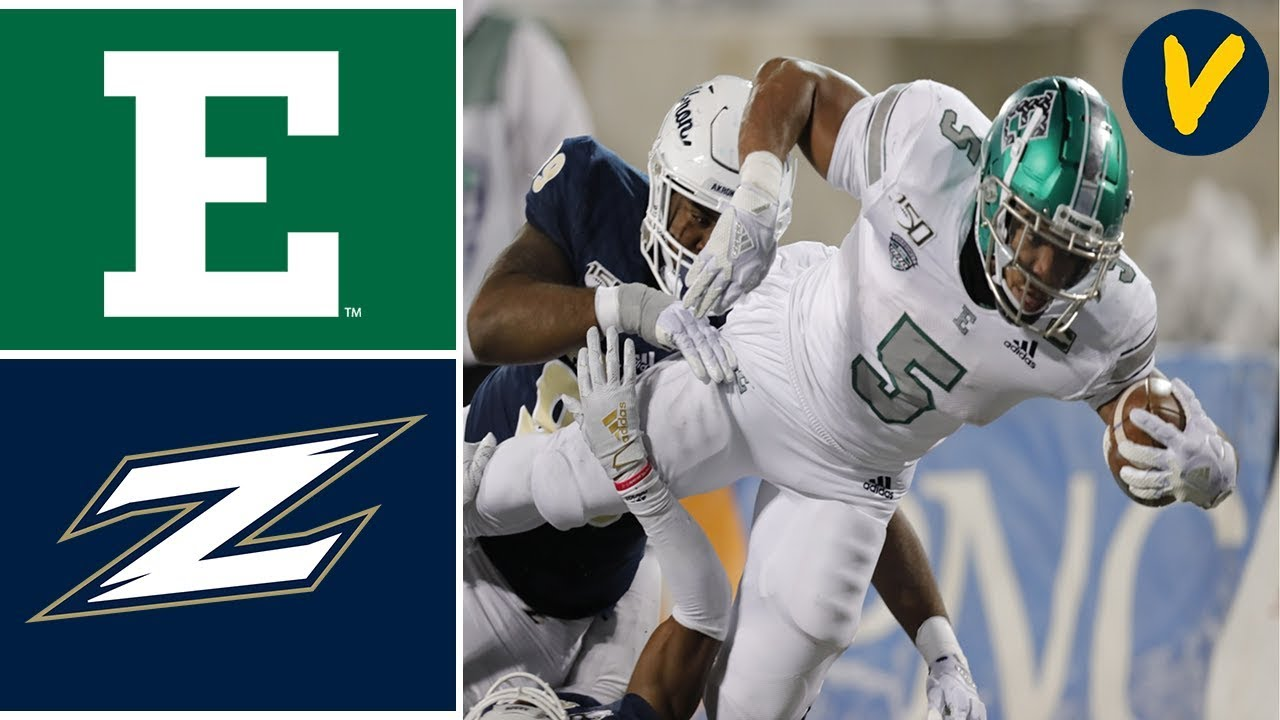 Eastern Michigan vs Akron | Week 12 | College Football Highlights | 2019
