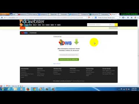 How to download file from indowebster
