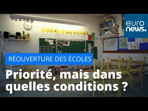 Réouverture des écoles le 11 mai: prudence et inquiétude