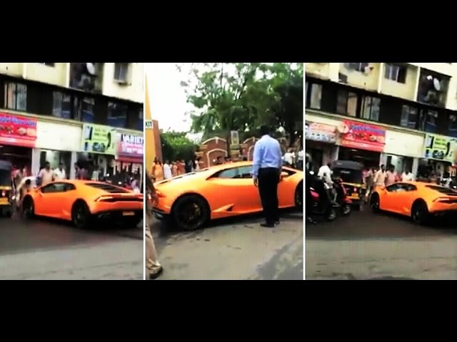 Watch Bjp Mla S Wife Crashes Lamborghini Gifted By Her Husband And