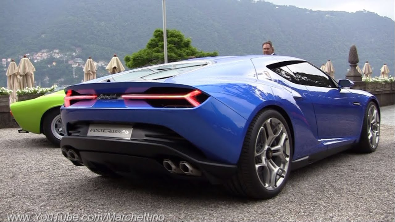 Lamborghini Asterion Engine Start Sound Driving And Overview Youtube