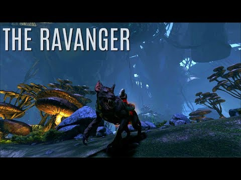 RAVANGER AND BULBDOG TAMES - Scaling the Cliff - ARK Aberration