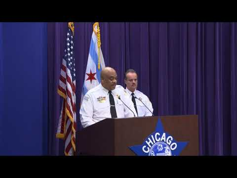 CPD Supt. Eddie Johnson discusses slayings of two city workers