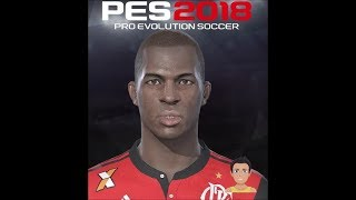 Vinicius Junior - PES 2018 Face Build