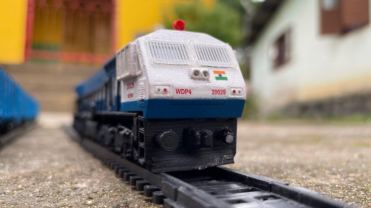 WDP4 Locomotive Engine Start Up by the Indian Railways Sound Test