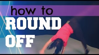 HOW TO DO A ROUND OFF | Beginners Gymnastics Tutorial