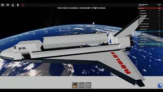 Roblox Pinewood space Shuttle #1