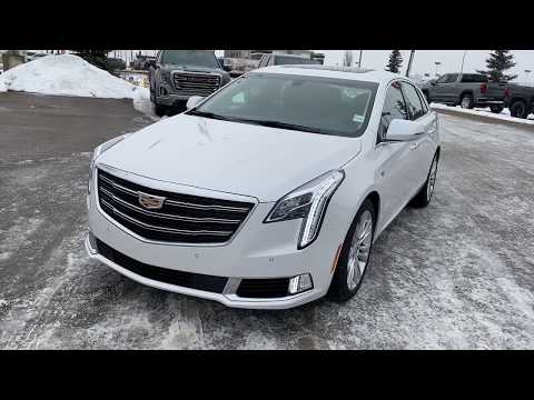 White 2019 Cadillac XTS LUXURY Review   - Western GMC Buick