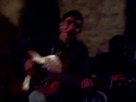 antonio giraldez y sus dotes con la guitarra