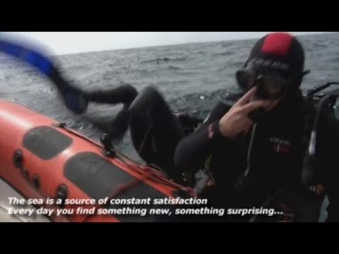 The scuba diver promoting conservation in Spain's Mediterranean waters