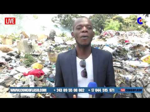 Kinshasa vraiment mawa ba poubelles ekomisi yango solo ya WC. Bolanda
