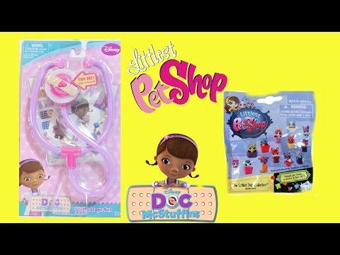 ألعاب بنات - الدكتورة ماكستافينز- طبيبة الألعاب Littlest pet shop - Doc Mcustuffins