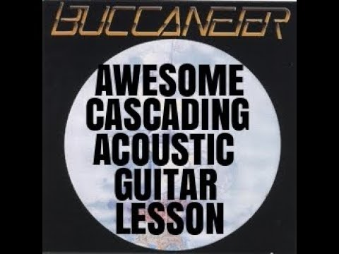 Awesome Cascading Acoustic Guitar Lesson By Scott Grove