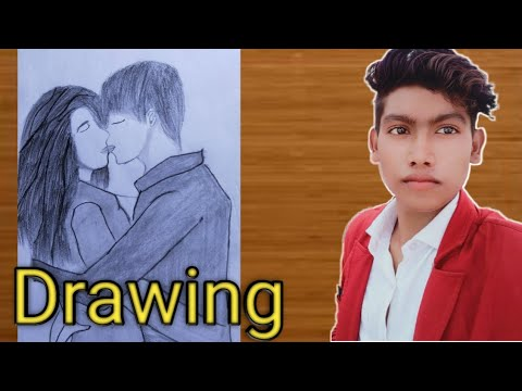 how-to-draw-people-kissing-[pose]