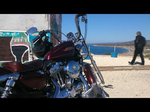 Motorcycle show Paphos, Cyprus, Atlantida Beach, Geroskipou, part one.