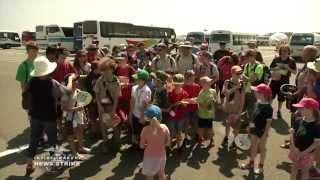Iwakuni Scouts attend the World Scout Jamboree