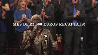 Concert Solidari del Cor de Gospel Sant Cugat al Palau de la música