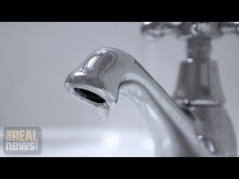 Detroit's Water Shut-off's at the Centre of Bankruptcy Proceedings