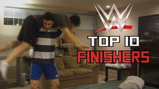 Top 10 WWE Finishers of 2016