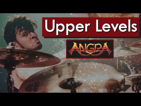 BRUNO VALVERDE - UPPER LEVELS - ANGRA - DRUM PLAYTHROUGH