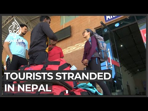 Thousands of tourists stranded in Nepal after lockdown