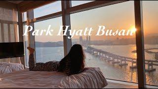 [부산 여행 브이로그] 친구들과 부산 파크 하얏트 호캉…