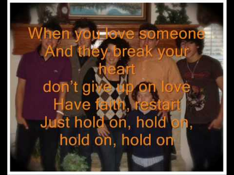 Hold On - Jonas Brothers (Karaoke HQ)