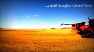 Wheat Harvest - Oaknook Farms, GoPro