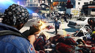 ZOMBIE SWARM OUTBREAK IN TOKYO?! (World War Z Gameplay) NEW Left 4 Dead Zombie Survival Game!